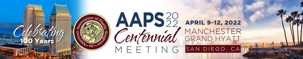 AAPS Centennial 2022 Meeting
